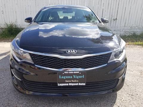2017 Kia Optima for sale at Laguna Niguel in Rosenberg TX