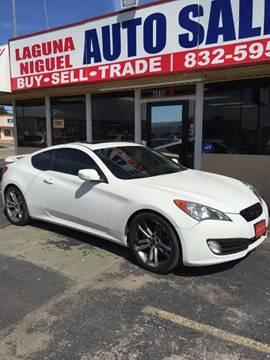 2010 Hyundai Genesis Coupe for sale at Laguna Niguel in Rosenberg TX