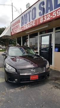 2010 Nissan Maxima for sale at Laguna Niguel in Rosenberg TX