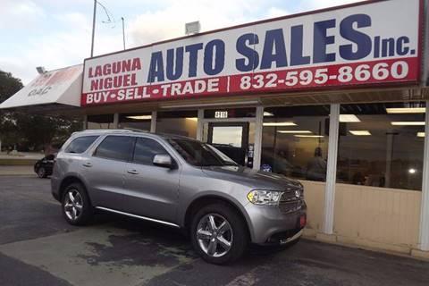 2013 Dodge Durango for sale at Laguna Niguel in Rosenberg TX