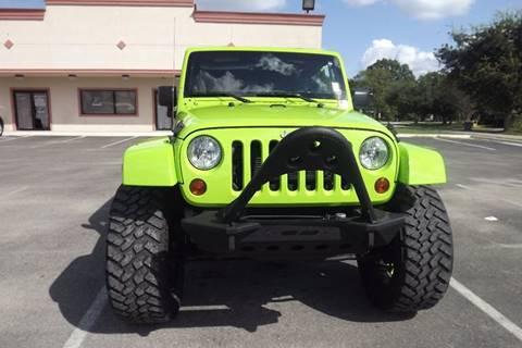 2013 Jeep Wrangler Unlimited for sale at Laguna Niguel in Rosenberg TX