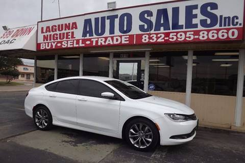 2015 Chrysler 200 for sale at Laguna Niguel in Rosenberg TX