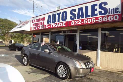 2012 Cadillac CTS for sale at Laguna Niguel in Rosenberg TX