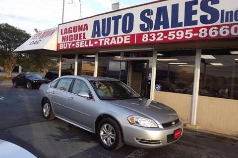 2012 Chevrolet Impala for sale at Laguna Niguel in Rosenberg TX