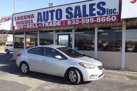 2016 Kia Forte for sale at Laguna Niguel in Rosenberg TX