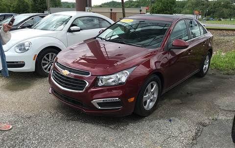 2016 Chevrolet Cruze Limited for sale in Lavalette, WV