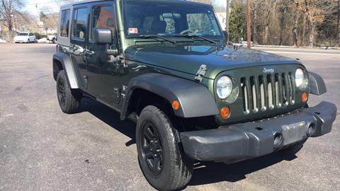 2008 Jeep Wrangler Unlimited for sale in Wakefield, RI
