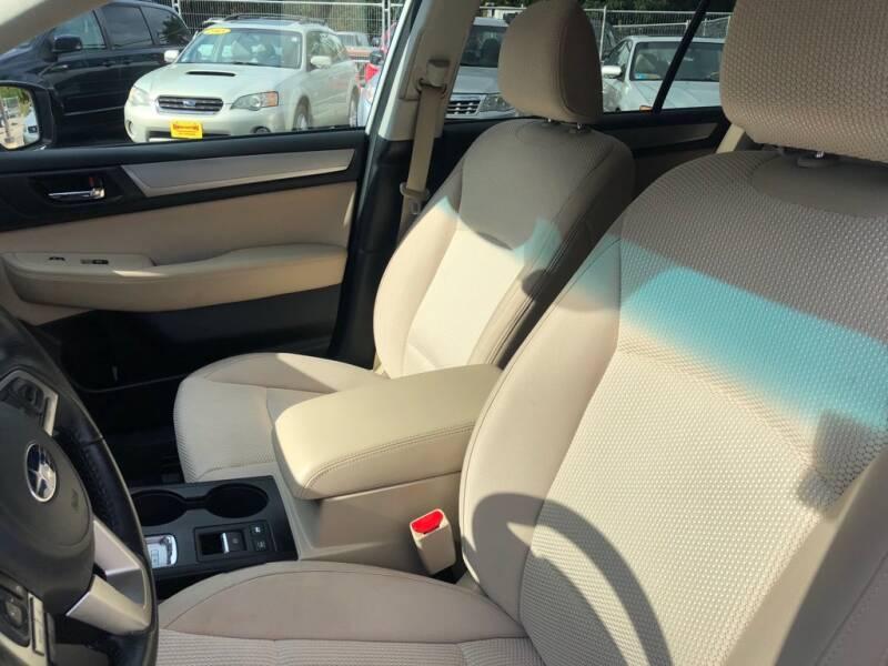 2016 Subaru Outback AWD 2.5i Premium 4dr Wagon - Wakefield RI