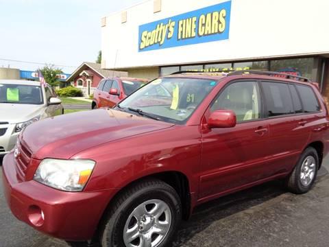 2007 Toyota Highlander for sale in Davison, MI