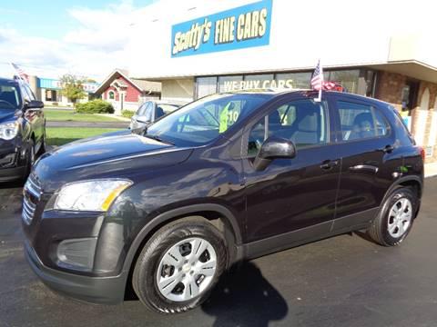 2016 Chevrolet Trax for sale in Davison, MI