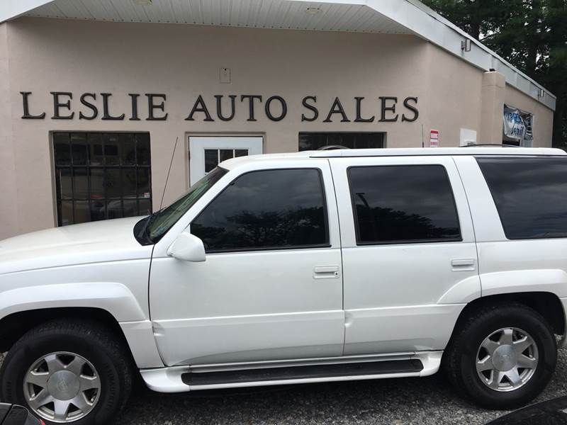 2000 Cadillac Escalade 4dr 4WD SUV In Red Bank NJ - Leslie