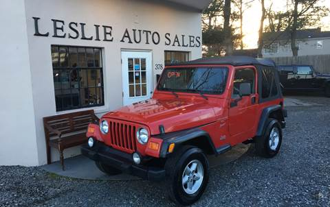 2000 Jeep Wrangler for sale in Port Monmouth, NJ
