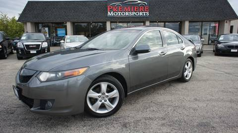 2009 Acura TSX for sale in Plainfield, IL