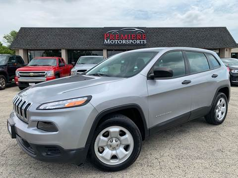 2014 Jeep Cherokee for sale in Plainfield, IL