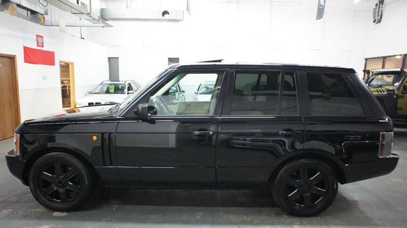 2004 Land Rover Range Rover HSE 4WD Full Size Blacked Out Carfax