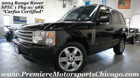 2004 Land Rover Range Rover for sale in Hickory Hills, IL