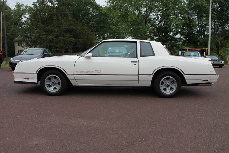 1986 Chevrolet Monte Carlo SS 2dr Coupe - Harleysville PA