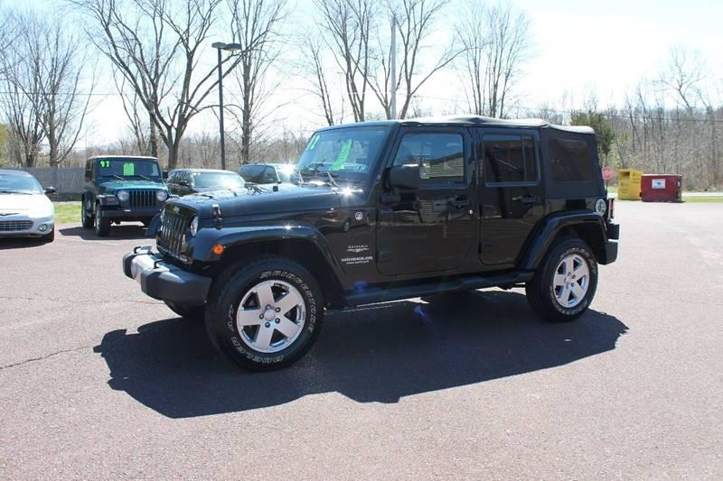 2012 Jeep Wrangler Unlimited 4x4 Sahara 4dr SUV - Harleysville PA