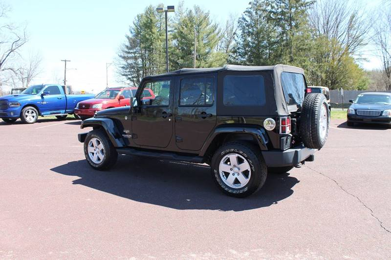 2012 Jeep Wrangler Unlimited 4x4 Sahara 4dr SUV - Harleysville PA