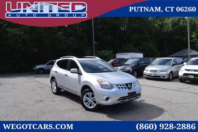 2012 Nissan Rogue AWD 4dr SV   Putnam CT