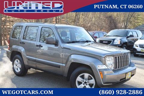 2012 Jeep Liberty for sale in Putnam, CT