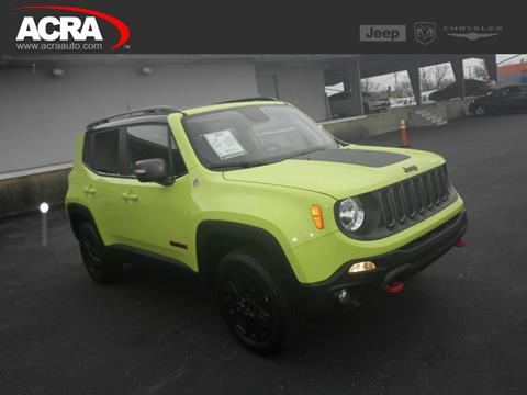 2018 Jeep Renegade for sale in Greensburg, IN
