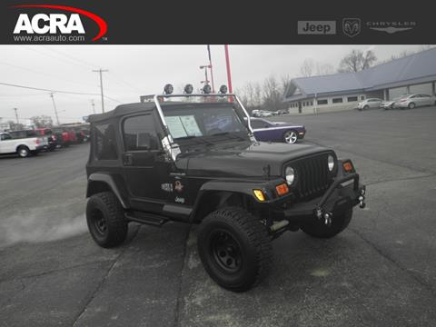 1998 Jeep Wrangler for sale in Greensburg, IN