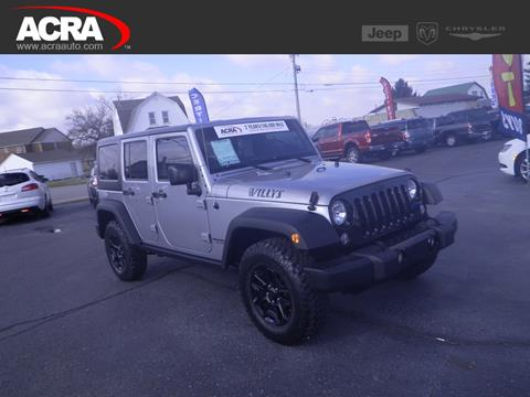 2016 Jeep Wrangler Unlimited for sale in Greensburg, IN
