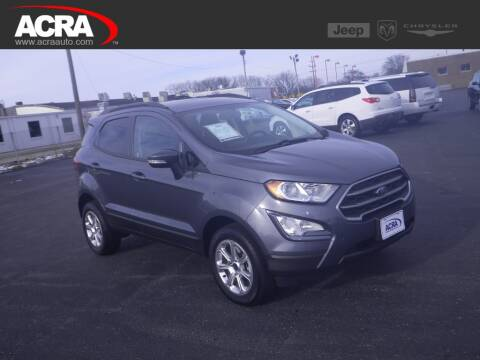 2018 Ford EcoSport for sale at BuyRight Auto in Greensburg IN