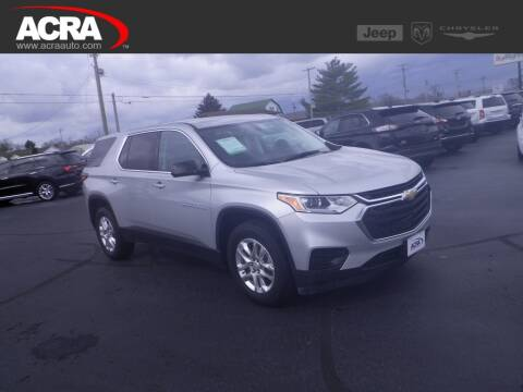 2018 Chevrolet Traverse LS for sale at BuyRight Auto in Greensburg IN