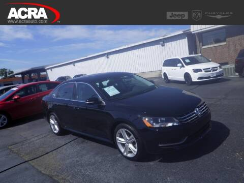 2014 Volkswagen Passat for sale at BuyRight Auto in Greensburg IN