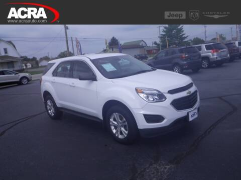 2016 Chevrolet Equinox for sale at BuyRight Auto in Greensburg IN