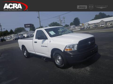 2012 RAM Ram Pickup 1500 for sale at BuyRight Auto in Greensburg IN