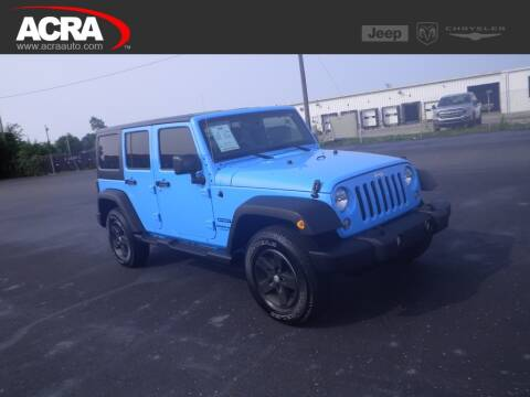 2018 Jeep Wrangler JK Unlimited for sale at BuyRight Auto in Greensburg IN