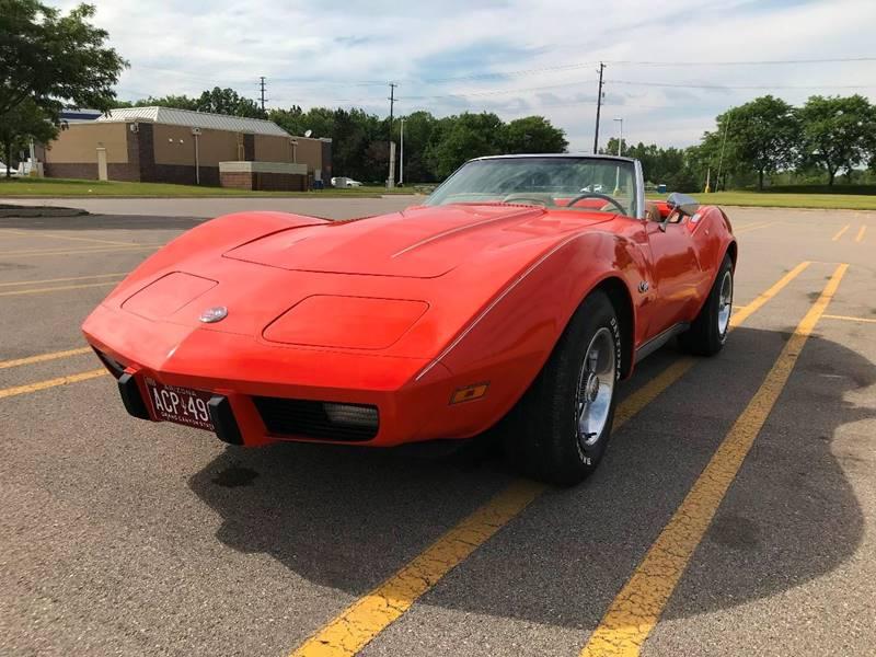 1975 Chevrolet Corvette car for sale in Detroit