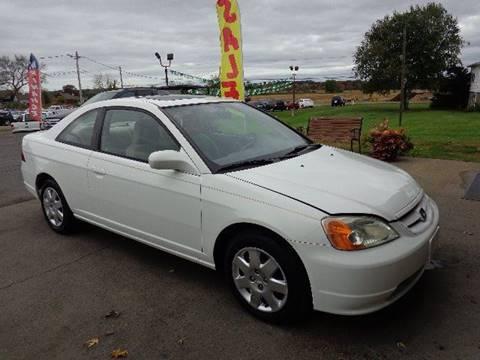 2002 Honda Civic for sale in Ellington, CT