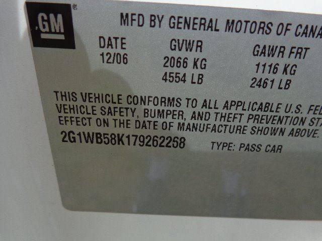 2007 Chevrolet Impala LS (image 6)
