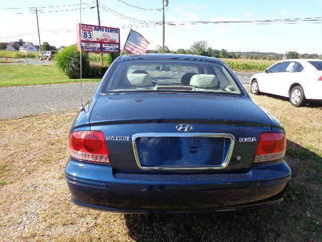 2005 Hyundai Sonata GL (image 4)