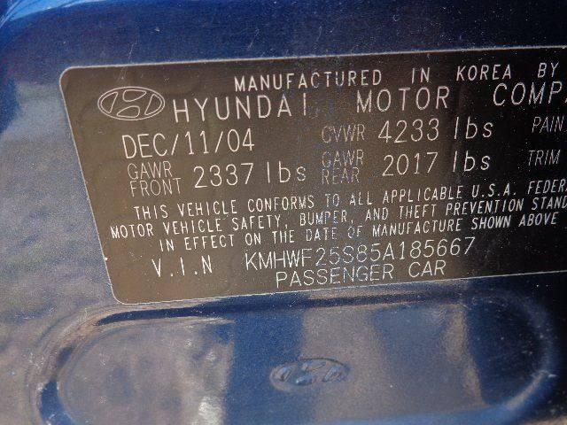 2005 Hyundai Sonata GL (image 6)