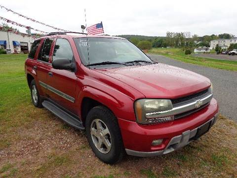 2002 Chevrolet TrailBlazer LT for sale at ROUTE 83 AUTO CENTER INC in Ellington CT