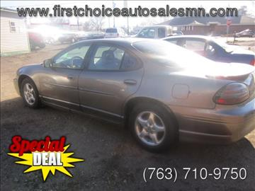 1999 Pontiac Grand Prix for sale in Anoka, MN