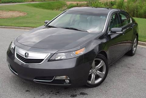 2012 Acura TL for sale at Desired Motors in Alpharetta GA