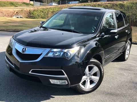 2011 Acura MDX for sale at Desired Motors in Alpharetta GA