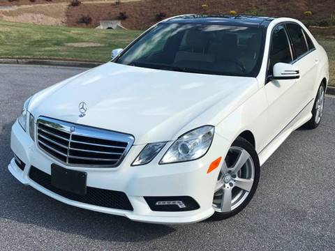 2011 Mercedes-Benz E-Class for sale at Desired Motors in Alpharetta GA