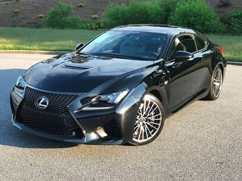 2015 Lexus RC F for sale at Desired Motors in Alpharetta GA