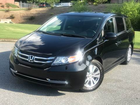 2015 Honda Odyssey for sale at Desired Motors in Alpharetta GA