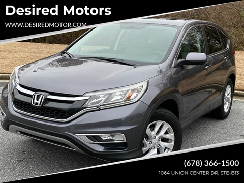 2015 Honda CR-V for sale at Desired Motors in Alpharetta GA