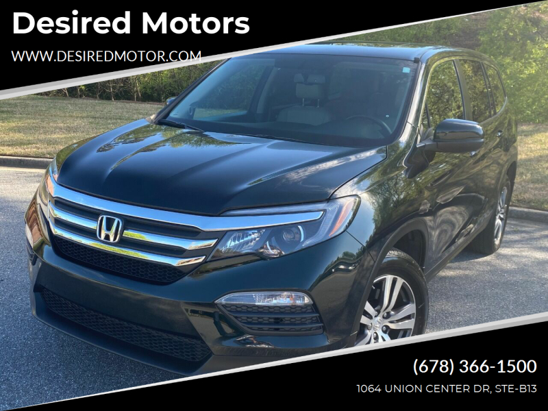 2016 Honda Pilot for sale at Desired Motors in Alpharetta GA
