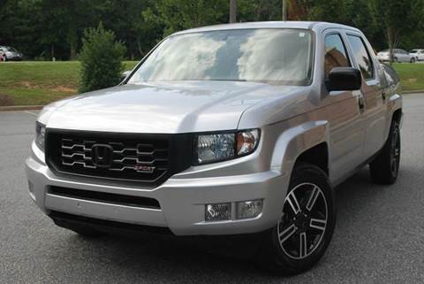 2013 Honda Ridgeline for sale at Desired Motors in Alpharetta GA