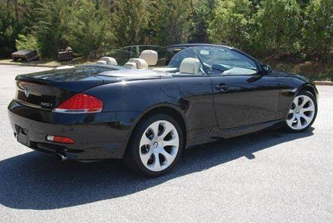 2007 BMW 6 Series for sale at Desired Motors in Alpharetta GA